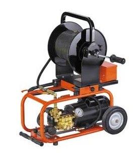 hydro drain jetting plumbing tool